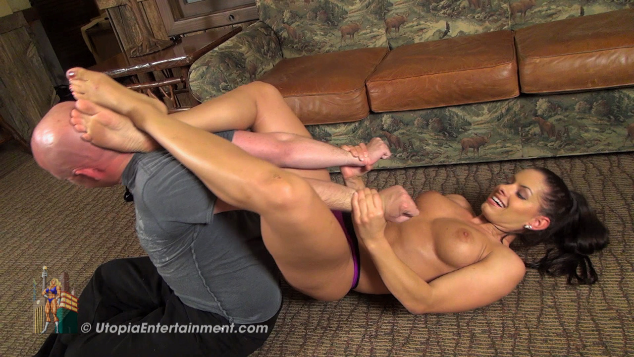 Mixed Wrestling Ass Domination