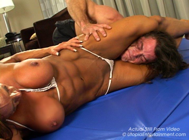 Wrestling amber deluca Mixed Wrestling
